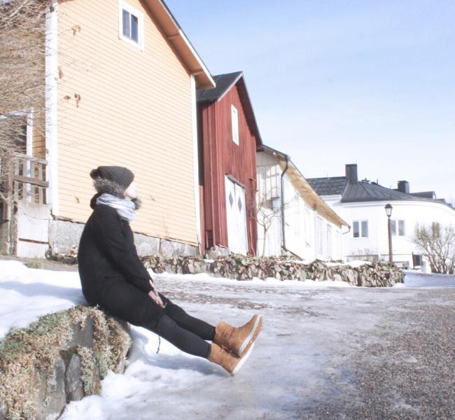 Finlândia, Porvoo, Helsinki, day trip, cidade medieval, inverno