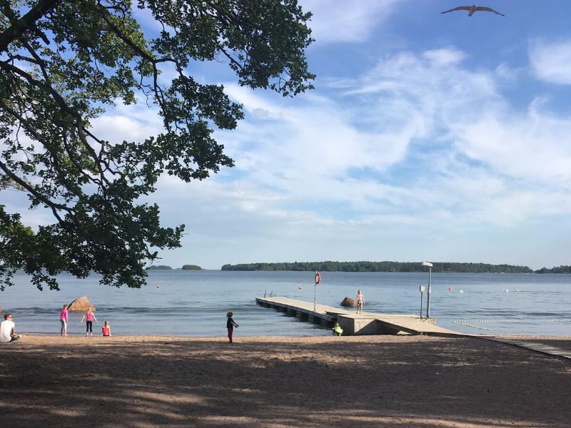 Finlândia, verão finlandês, praia, Espoo, Helsinki, atrações