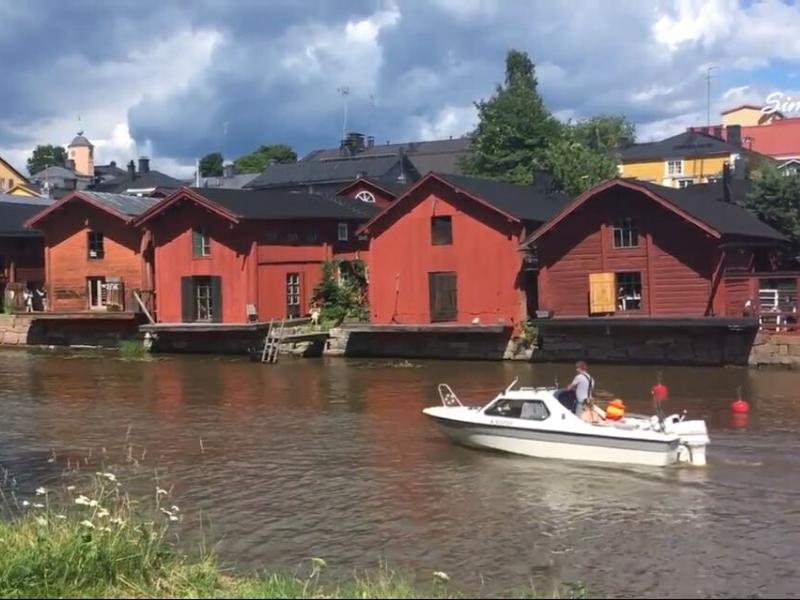 Finlândia, Porvoo, Helsinki, day trip, cidade medieval, bike trip