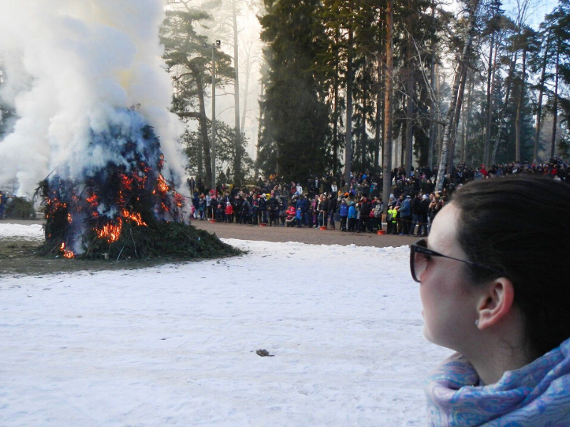Finlândia, Páscoa, tradição, atrações Ilha de Seurasaari, Helsinki